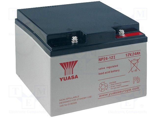 Аккумуляторы кислотные,YUASA,NP24-12I