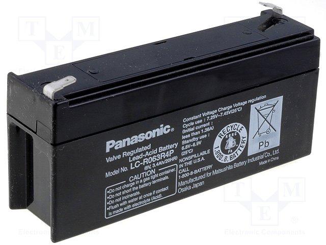 Аккумуляторы кислотные,PANASONIC,LC-R063R4P