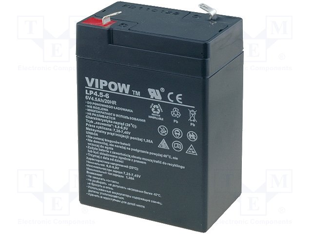 Аккумуляторы кислотные,VIPOW,BAT0200