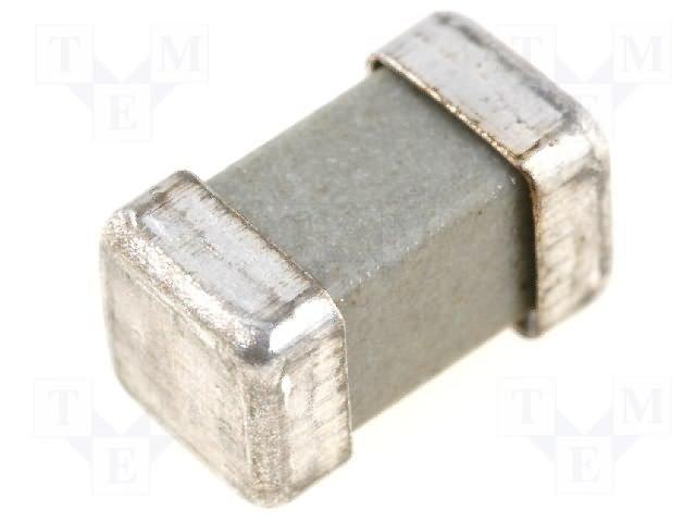 Предохранители SMD 8x4,5x4,5мм медленные,SIBA,160000.1,25
