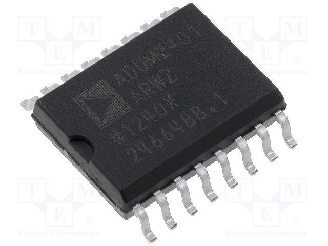 Интегральные схемы - интерфейсы осталь.,ANALOG DEVICES,ADUM2401ARWZ