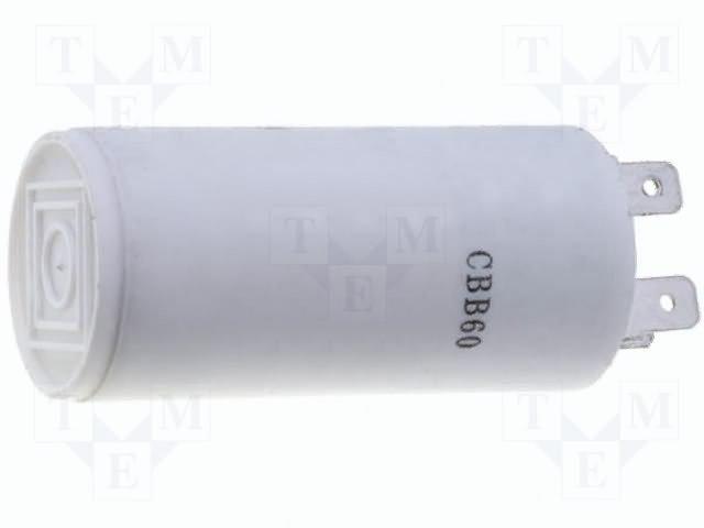 Конденсаторы для двигателей,SR PASSIVES,CBB60A-8/450