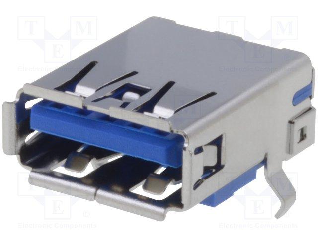 Разъeмы USB и IEEE1394,ADAM TECH,USB-A3-S-RA-CS1