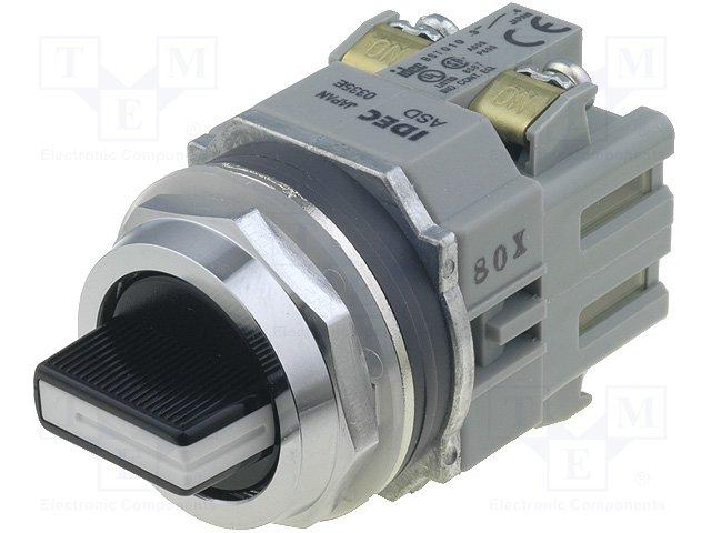Переключатели панельные стандартные 30мм,IDEC,ASD3320N