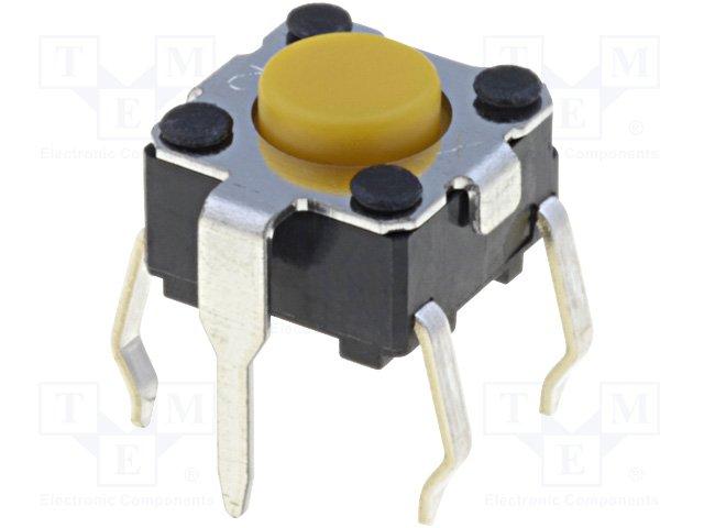 Микропереключатели, TACT PCB,OMRON,B3F-1102