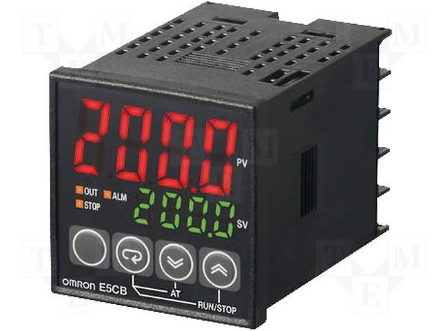 Регуляторы температуры,OMRON,E5CB-Q1TC 100-240AC