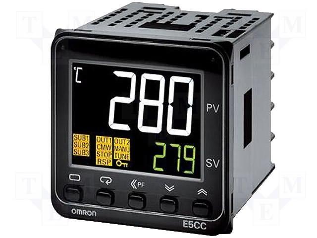 Регуляторы температуры,OMRON,E5CC-QX3A5M-000