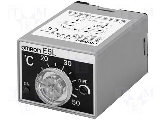 Регуляторы температуры,OMRON,E5L-A 100-200