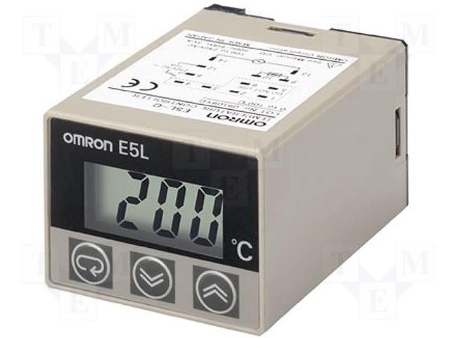 Регуляторы температуры,OMRON,E5L-C 0-100