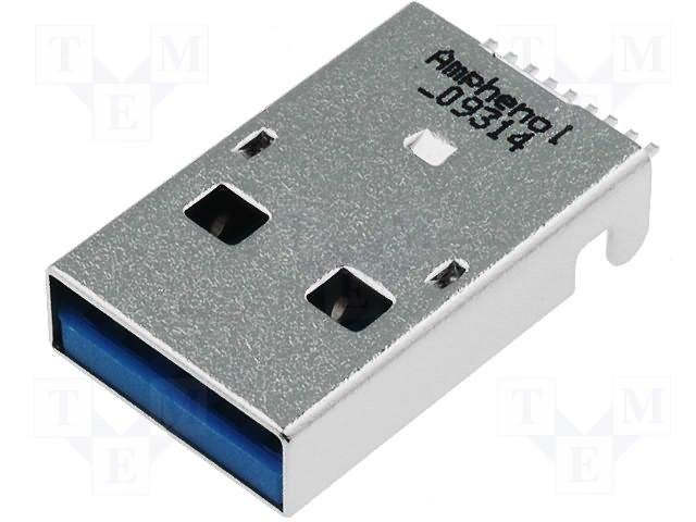 Разъeмы USB и IEEE1394,AMPHENOL,GSB316441CEU