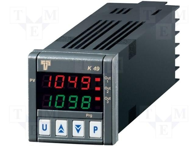 Регуляторы температуры,ASCON TECNOLOGIC,K49-HC0R