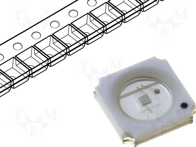 Colour power LEDS - Emiter,KINGBRIGHT ELECTRONIC,KT-5050SE9Z1S