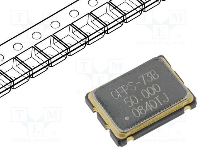 Кварцевые генераторы SMD,IQD FREQUENCY PRODUCTS,CFPS-73-50M