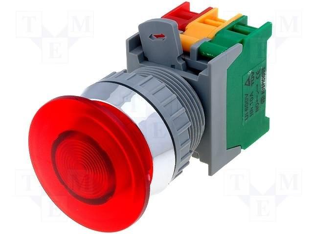 Переключатели панельные стандартные 30мм,AUSPICIOUS,EBL30 1O/C R, W/O LAMP
