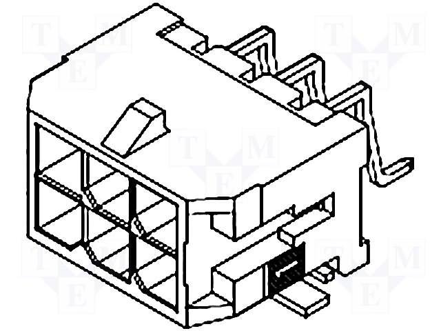 Разъeмы Micro-Fit,MOLEX,0430451800