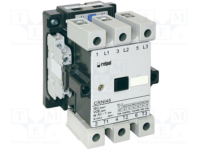 Контакторы - главные модули,RELPOL,CRNI45-30-22-A024