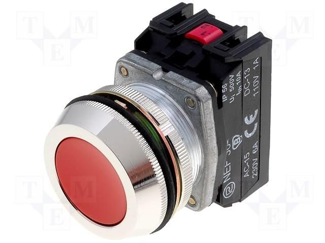 Переключатели панельные стандартные 30мм,PROMET,NEF30-K4XC
