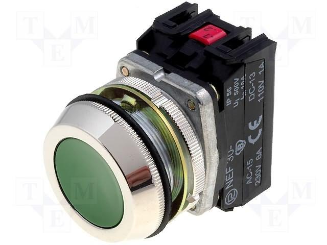 Переключатели панельные стандартные 30мм,PROMET,NEF30-K2XZ