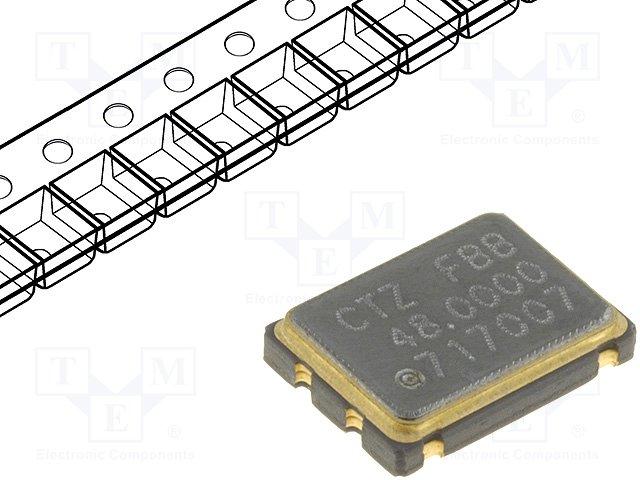 Кварцевые резонаторы SMD,CITIZEN AMERICA,CSX750FJC48.000M-UT