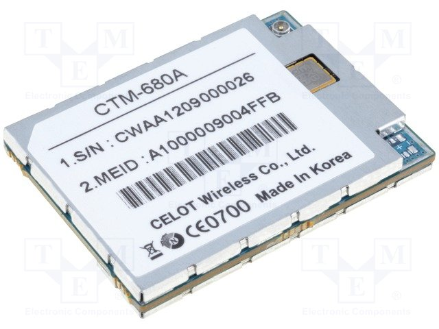 Модули GSM/GPS,CELOT WIRELESS,CTM-680-A