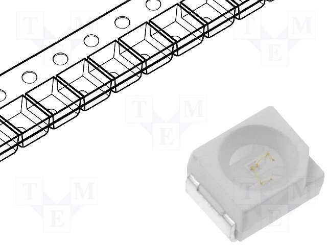 SMD colour LEDs,OPTOSUPPLY,OSG5DAS1C1A-LM