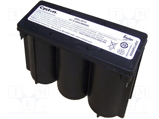 Аккумуляторы кислотные,HAWKER ENERGY,CYCLON-E6