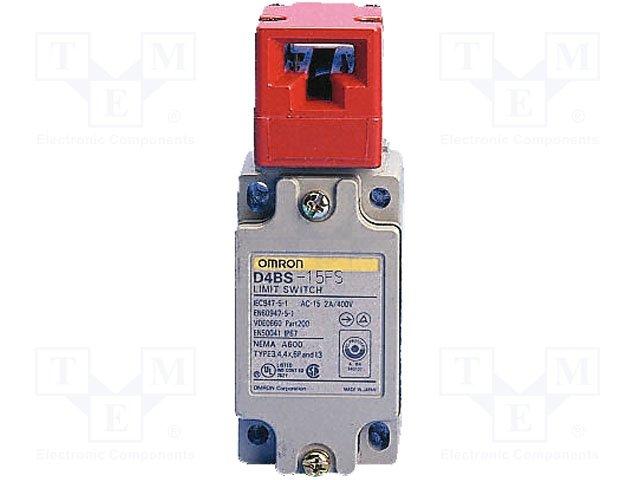 Предохранитель. выключатели стандартные,OMRON,D4BS-15FS