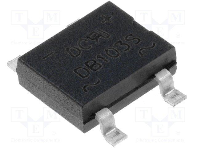 Однофазные мосты диодные SMD/THT,DC COMPONENTS,DB103S