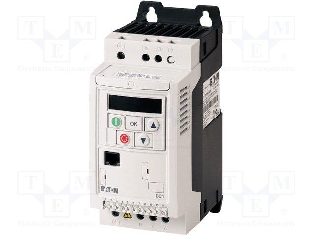 Однофазные инверторы,EATON ELECTRIC,DC1-122D3FN-A20N