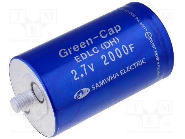 Суперконденсаторы,SAMWHA,DH5U208W60102TH