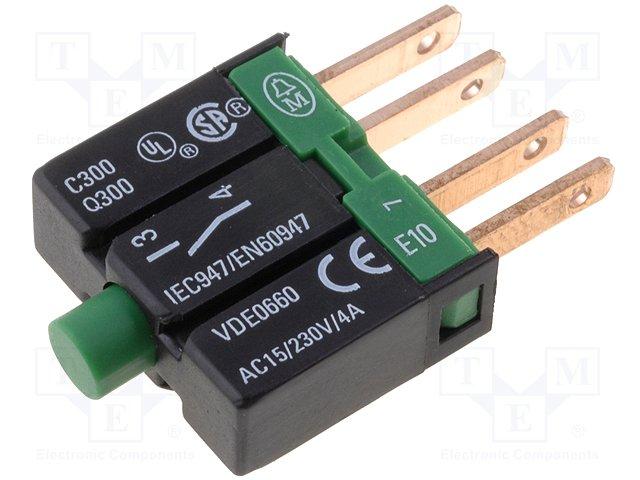 Переключатели панельные стандартные 16мм,EATON ELECTRIC,E10
