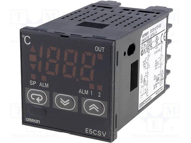 Регуляторы температуры,OMRON,E5CSV-Q1TD-500 24AC/DC