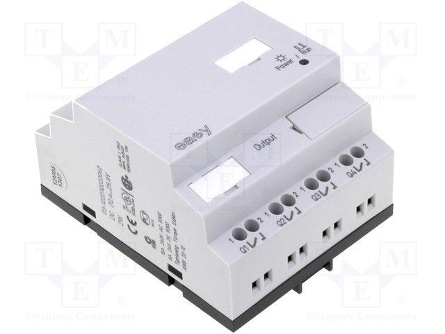 Реле прогр. основные модули,EATON ELECTRIC,EASY512-DC-TCX