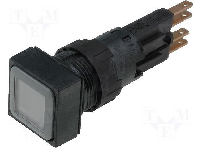 Переключатели панельные стандартные 16мм,EATON ELECTRIC,Q18LTR-WS/WB