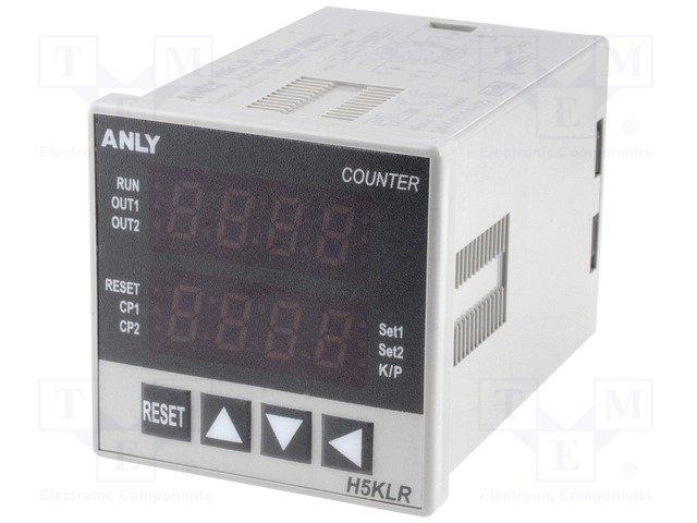 Счетчики импульсов,ANLY ELECTRONICS,H5KLR-11 100-240V AC/DC