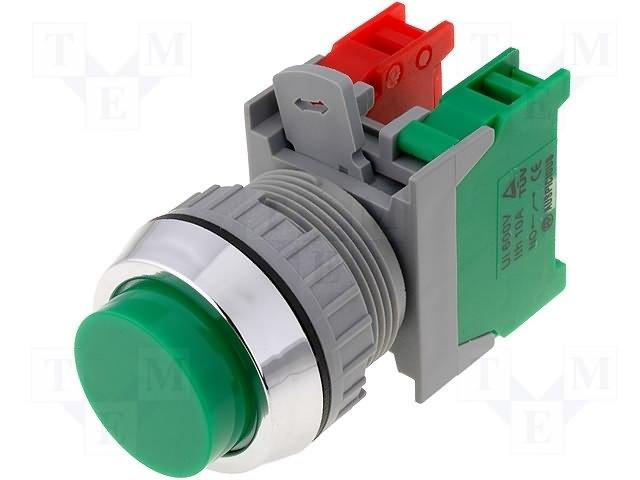 Переключатели панельные стандартные 30мм,AUSPICIOUS,XL30-1O/C G