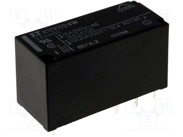 Реле электромагн. миниатюрные,FUJITSU-TAKAMISAWA,FTR-K1CK024W