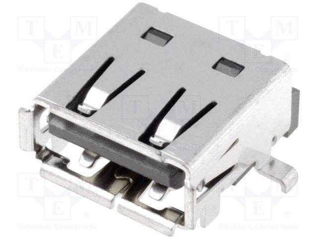 Разъeмы USB и IEEE1394,JST,UBA-4R-S14HD-4S