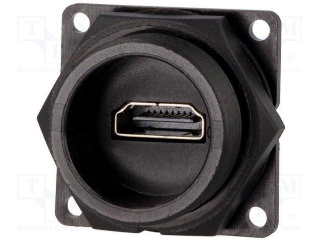 Разъeмы EURO, HDMI,SWITCHCRAFT,DCP-HDMIT-HD