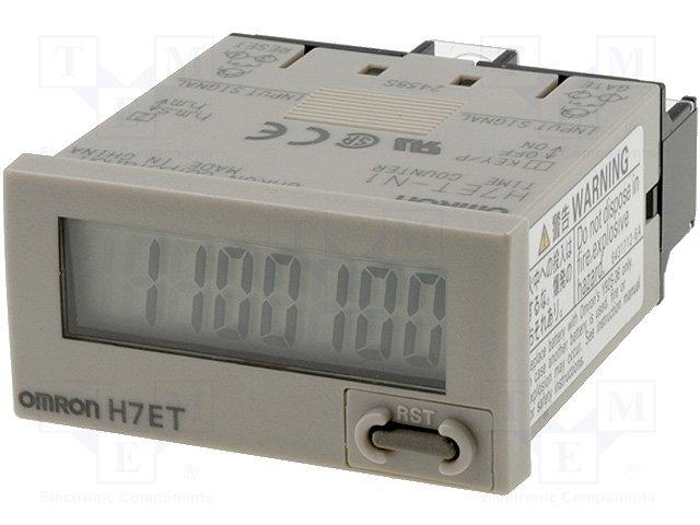 Счетчики рабочего времени,OMRON,H7ET-N1