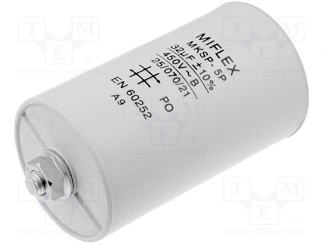 Конденсаторы для двигателей,MIFLEX,I15KV632K-B
