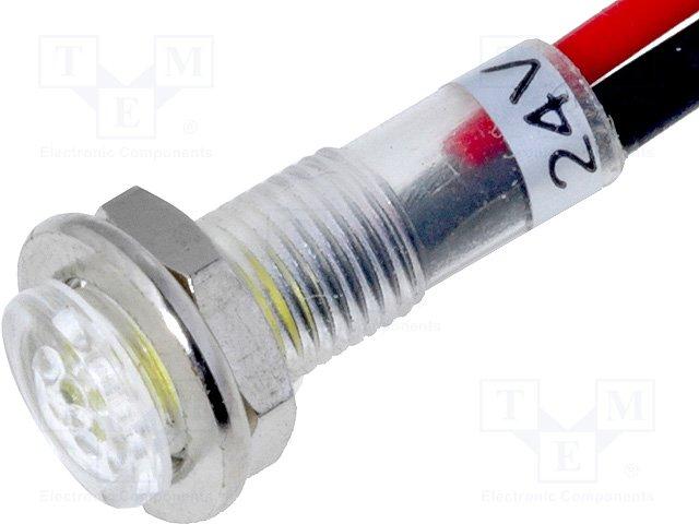 Светодиодные контрольные лампочки,SCI,R9-79L-11-24YELLOW