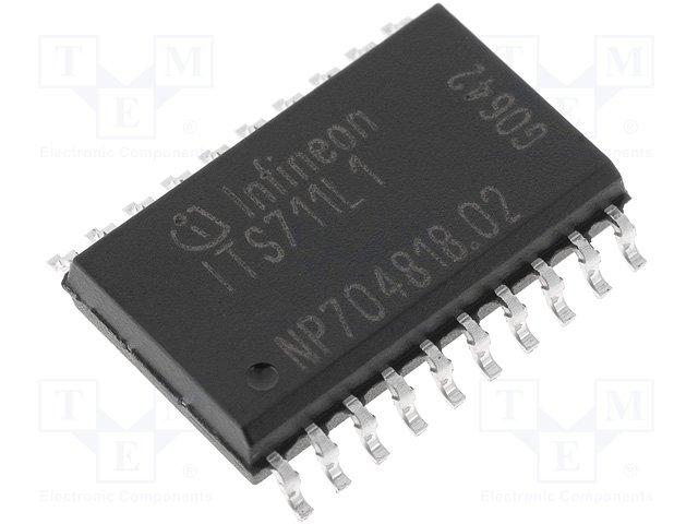Драйверы - интегральные схемы,INFINEON TECHNOLOGIES,ITS711L1