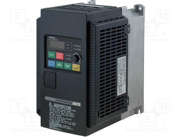 Трехфазные инверторы,OMRON,3G3JX-A4007-EF