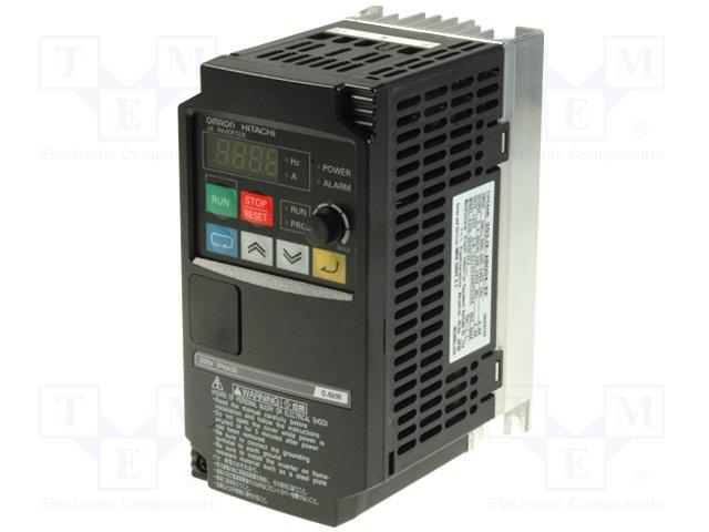 Однофазные инверторы,OMRON,3G3JX-AB004-EF