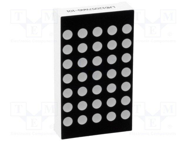 Дисплеи СИД матрицы,LMD12057AUE-101D