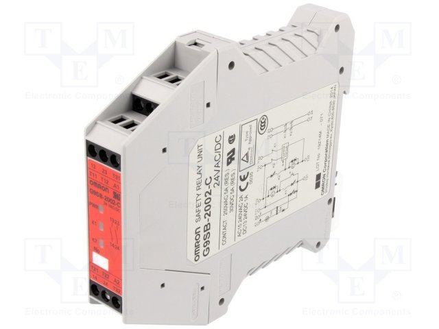 Предохран. выключат. - модули управления,OMRON,G9SB-2002-C