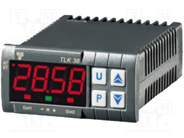 Регуляторы температуры,ASCON TECNOLOGIC,TLK38-FCOO