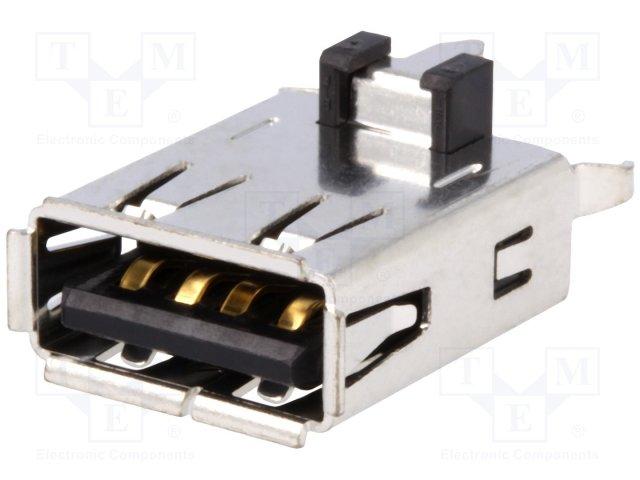 Разъeмы USB и IEEE1394,JST,UBAS-4R-D14D-4D
