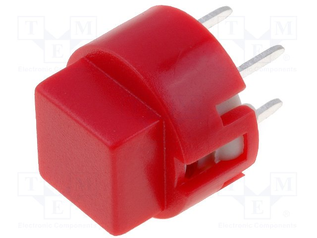 Микропереключатели, TACT PCB,HIGHLY,KS01-AV-RED